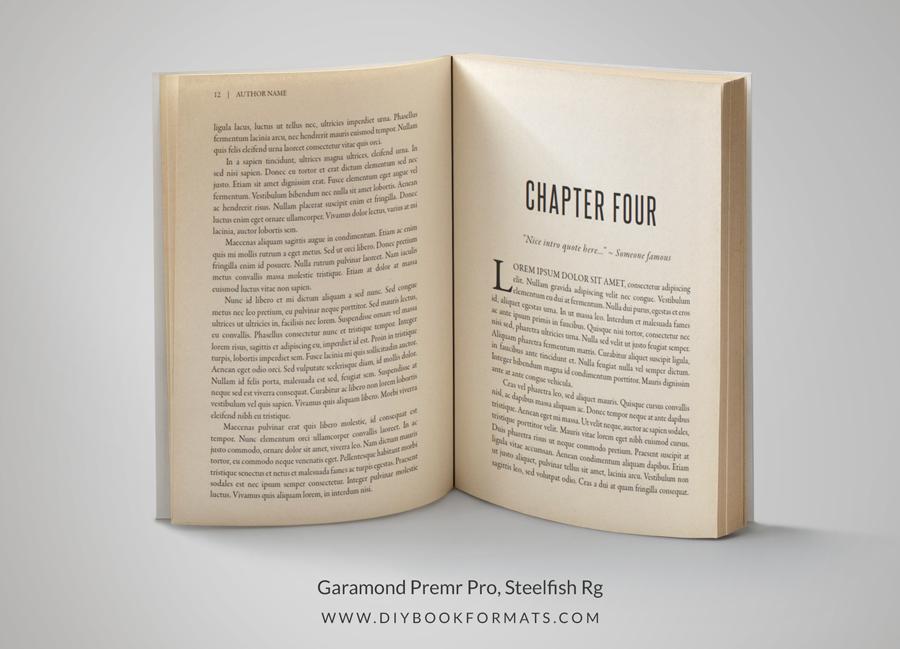 DIY Book Formatting for Print and Ebook | Creativindie