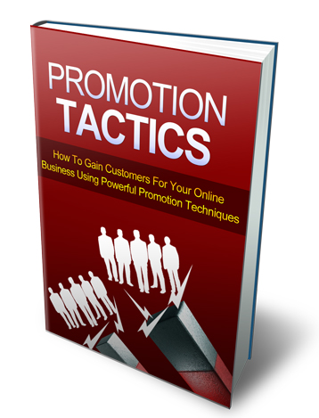 Promotion Tactics E-book