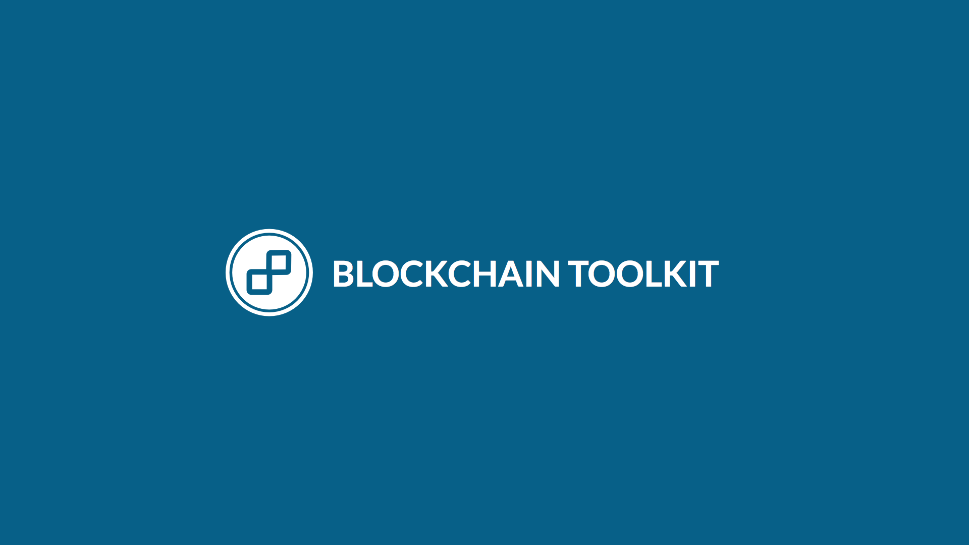 Blockchain Toolkit