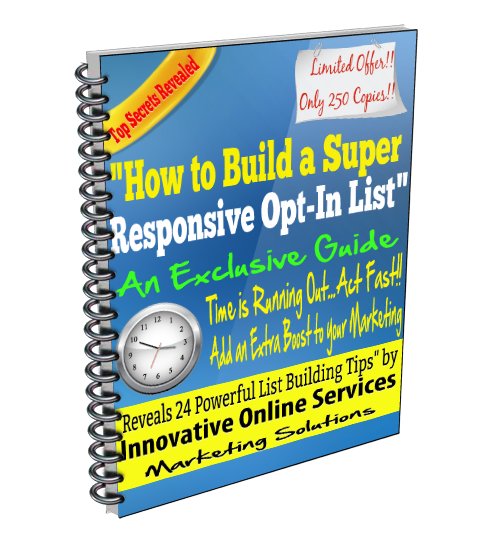 How to Build a Super Responsive Opt-In List