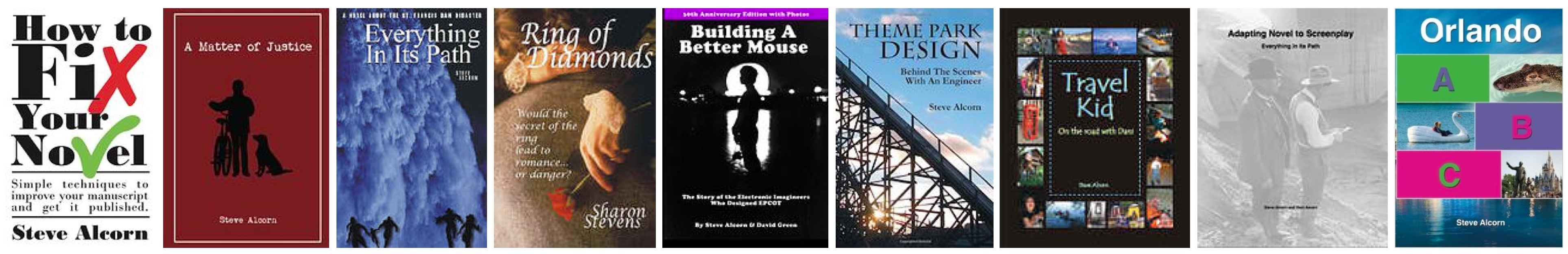 Books by your instructor, Steve Alcorn