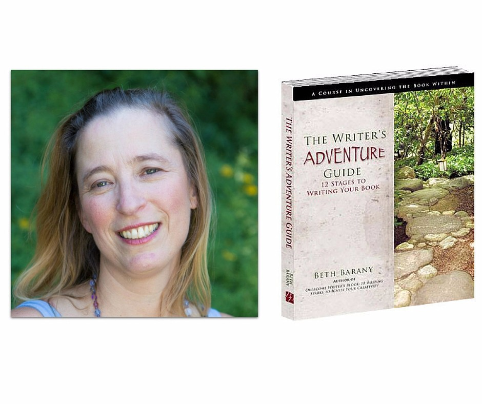 Beth Barany, author of The Writer's Adventure Guide, creativity coach and teacher