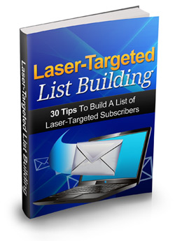 Laser-Targeted List Building