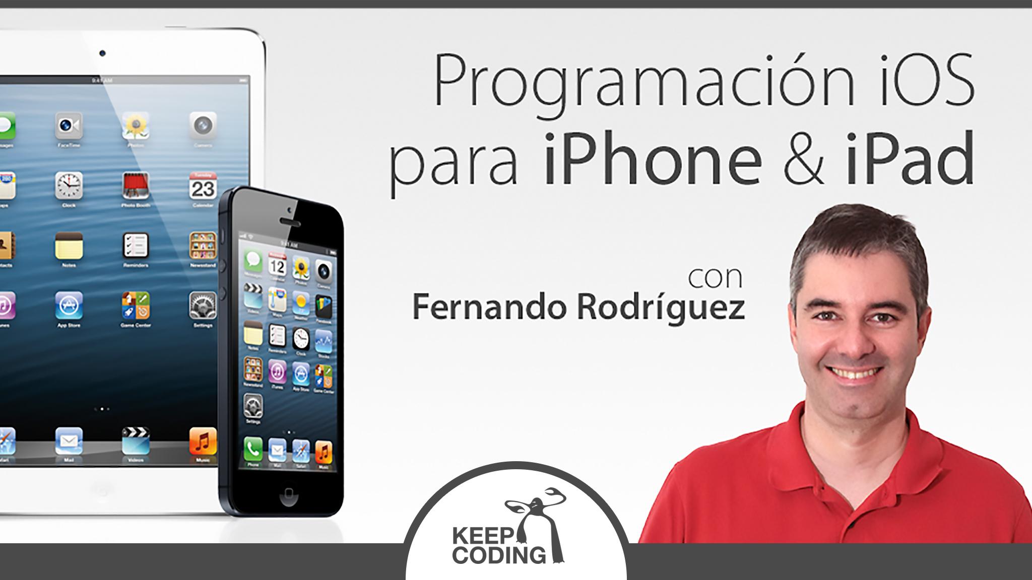 Programación iOS para iPhone y iPad | Cursos Programación Online -