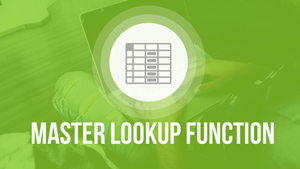 An Image of MS Excel Mini Course on Master Lookup Function in Excel