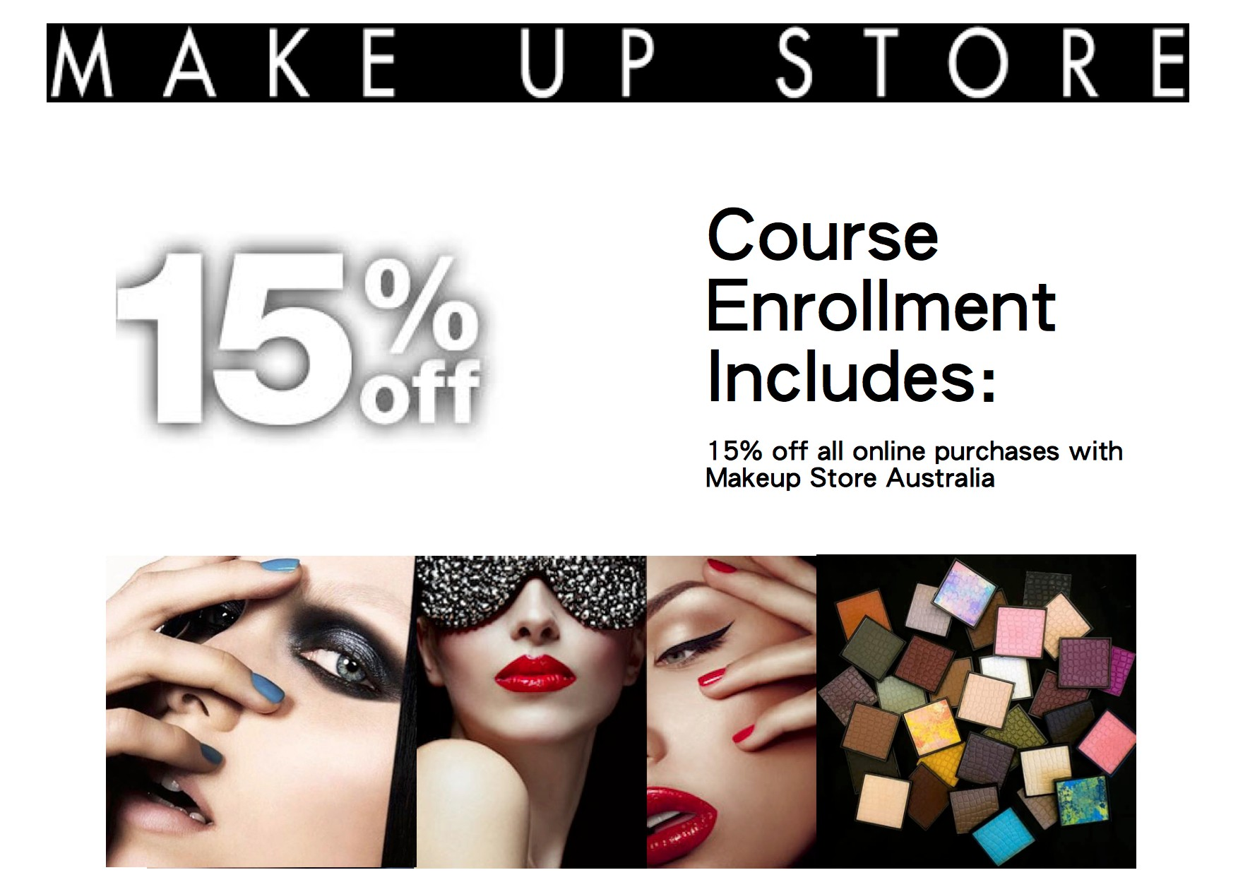 The online makeup school the online makeup academy when you enrol with the erin shaw makeup academy its for lifetime access xflitez Image collections